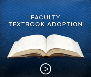Picture of open textbook. Click to go to the faculty textbook adoption page.